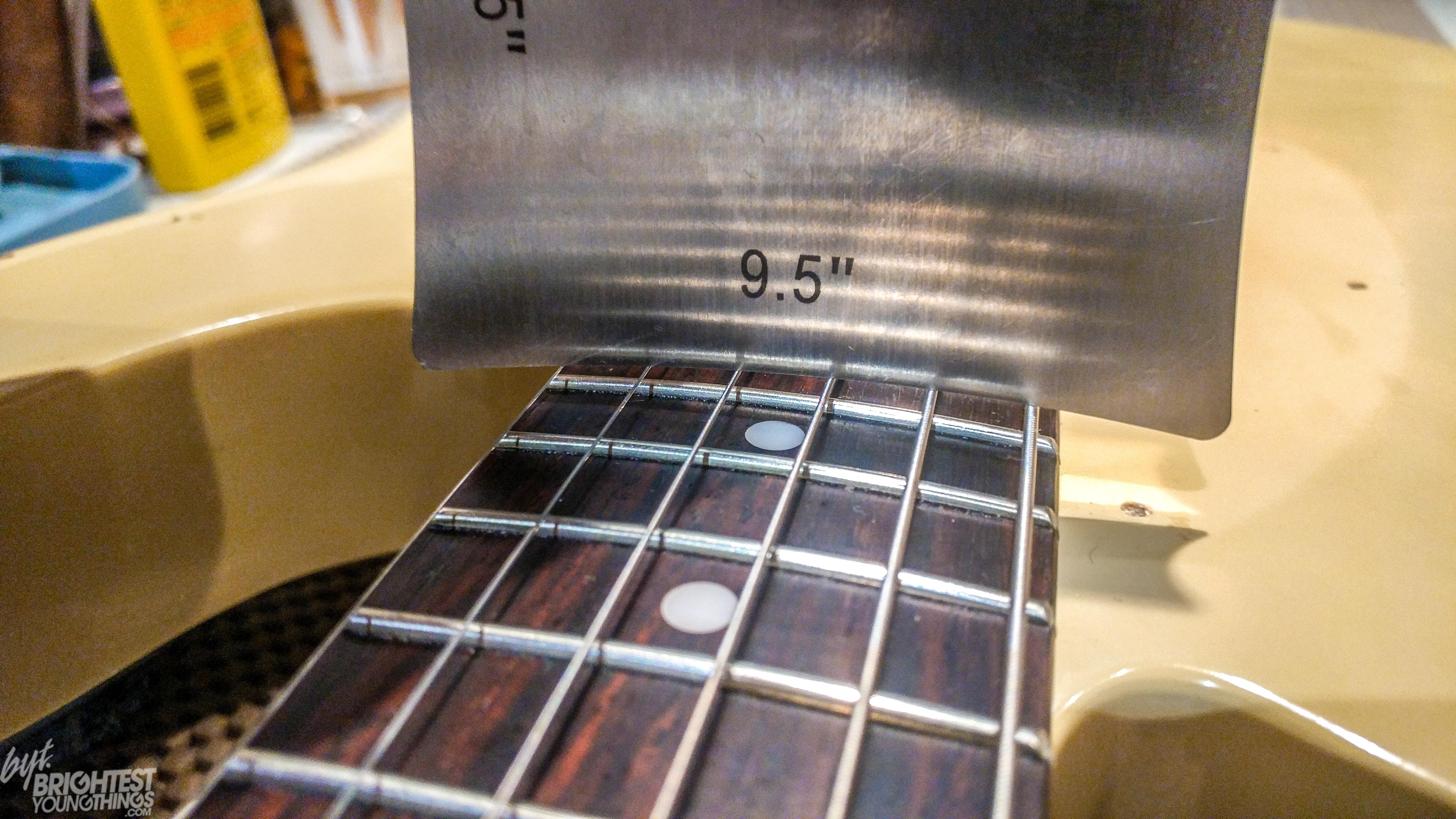 How To Build An Electric Guitar Wiring Diagrams Insight After Its A Matter Of Checking The Nut Slots For Proper Depth High Frets Putting Pickups At Right Height Testing Electronics