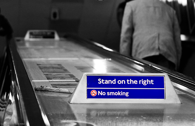 042/365 - Stand on the Right