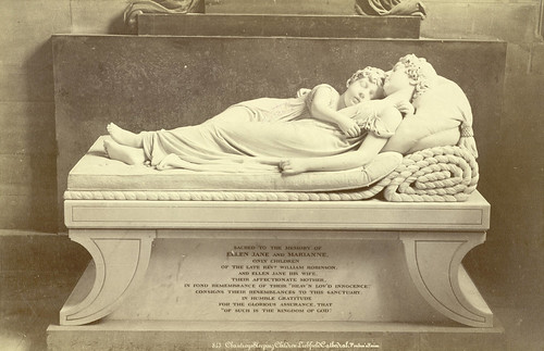 Chantrey's Sleeping Children, Lichfield Cathedral