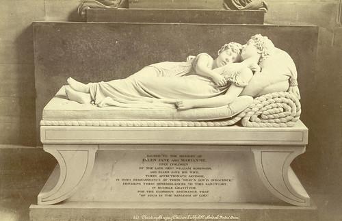 Chantrey's Sleeping Children, Lichfield Cathedral