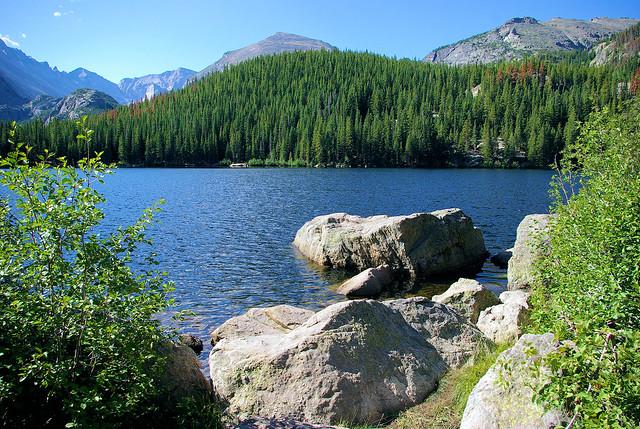 Bear Lake, Rocky Mountain National Park, Colorado, September 3, 2009