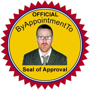 ByAppointmentTo Seal of Approval