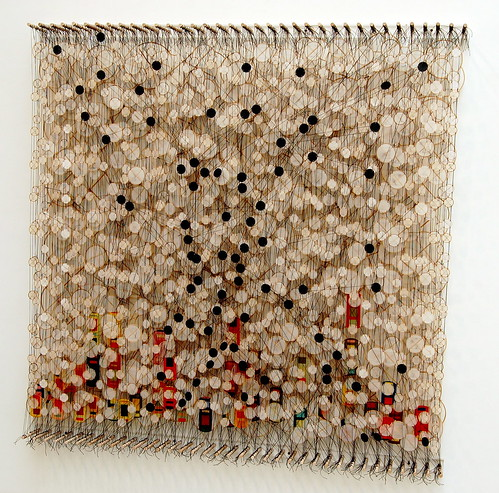 Jacob Hashimoto, Circumstances and Coincidences, 2009 By 16 Miles of String cc: flickr