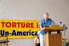 Seymour Hersh speaks against torture at the WRRCAT symposium