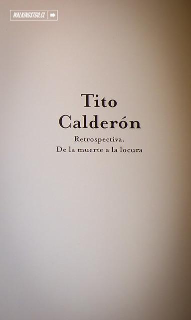 """EXPOSICIÓN DE TITO CALDERÓN """"RETROSPECTIVA. DE LA MUERTE A LA LOCURA"""" EN EL BELLAS ARTES"""