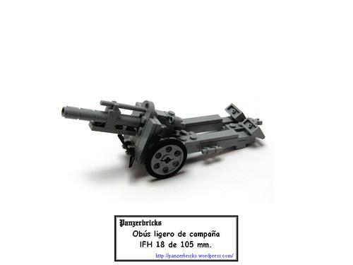leFH 18 de Panzerbricks