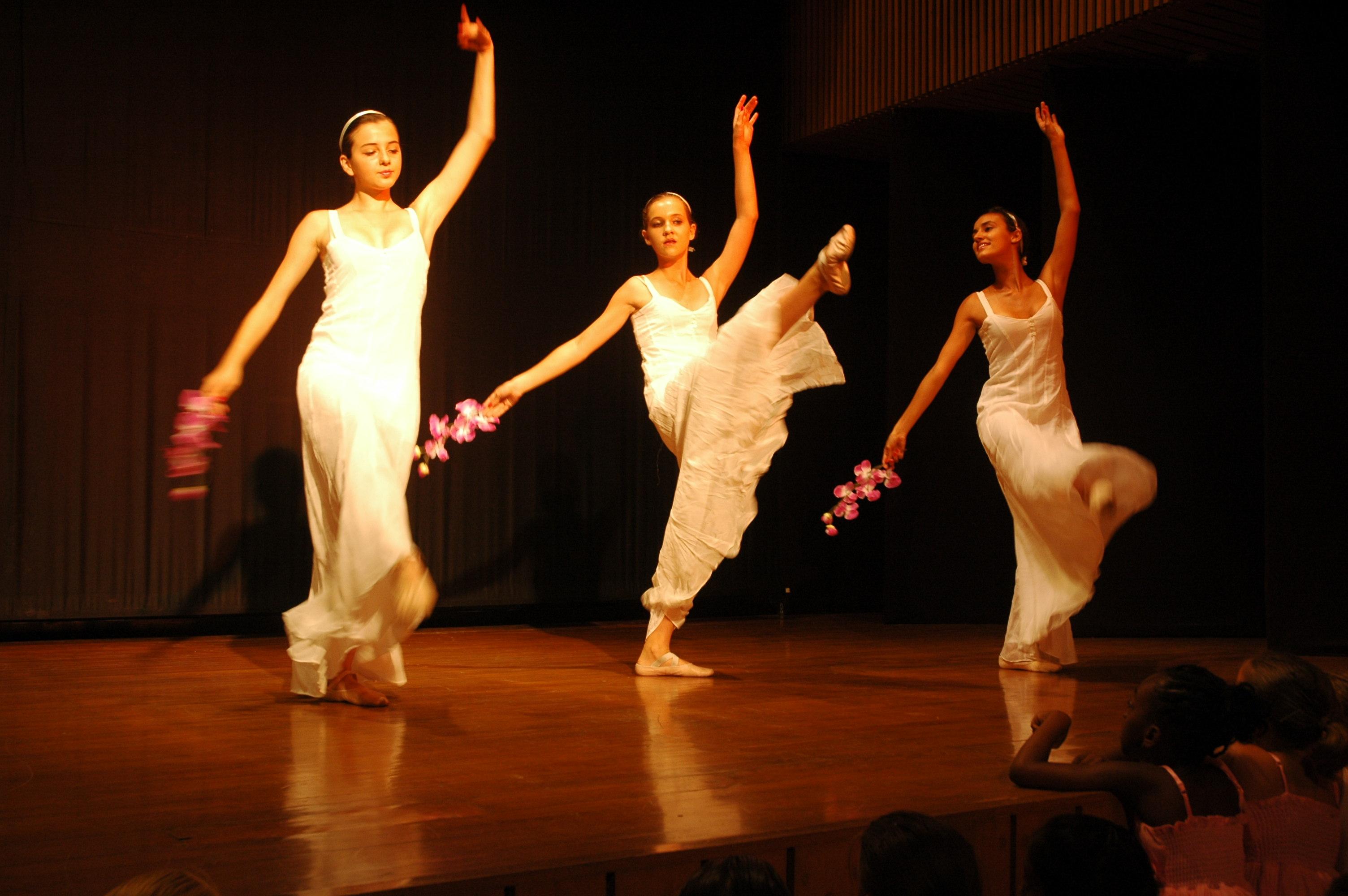 Young ballet dancers, France