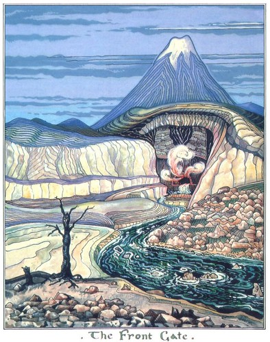 JRR Tolkien's Art