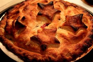 Pie with stars