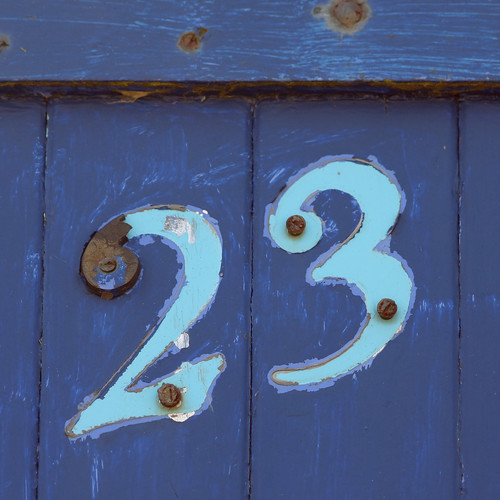 beach hut number 23
