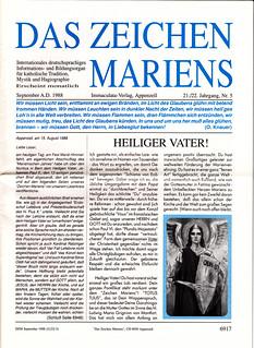 1-DZM Sept 1988 Titelseite