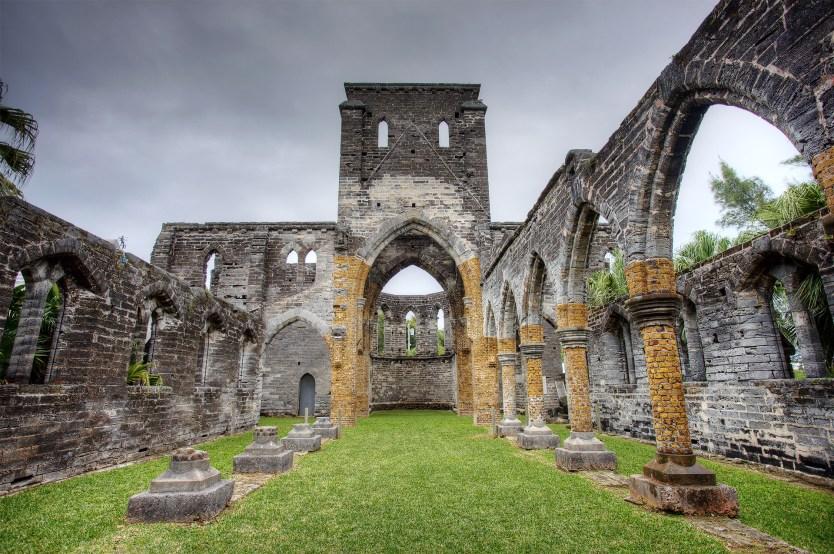Unfinished Church, Bermuda.