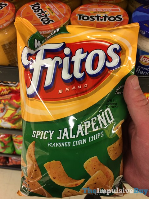 Fritos Spicy Jalapeno Corn Chips