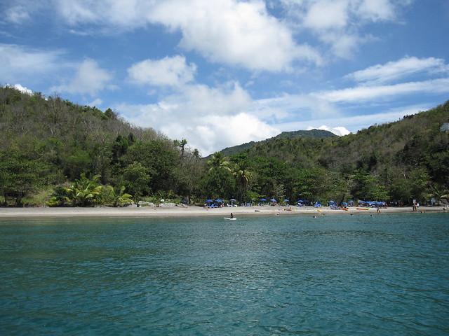Anse Cochon beach on Saint Lucia