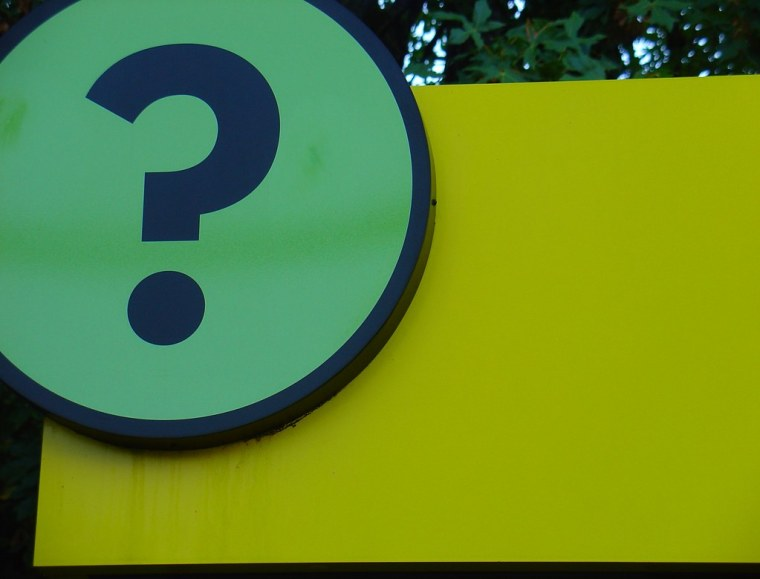 Q is for Question Mark