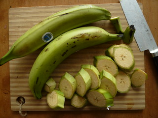Plantains, Sliced