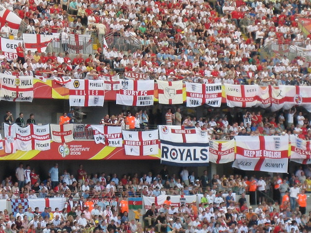 England's travelling faithful