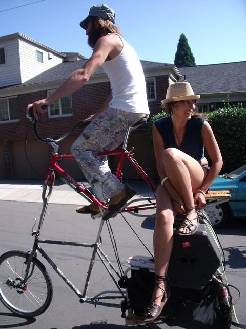 Tall Bike Two-step