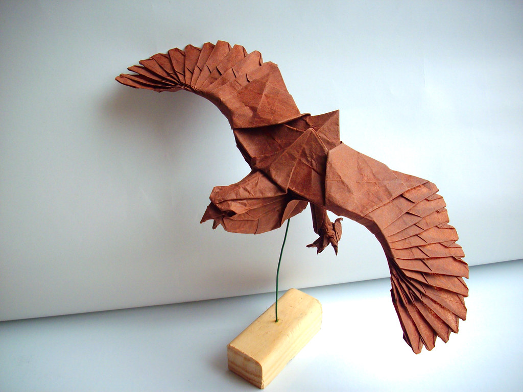 Eagle by Nguyen Hung Cuong, folded by me