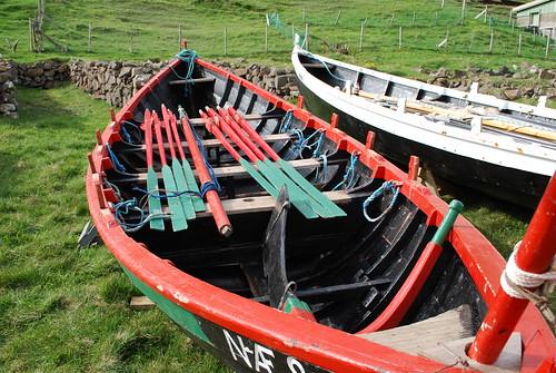 Old Pilot Whale boat - Vágur