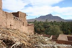 Ksar de Aslim em Agdz, sul de Marrocos