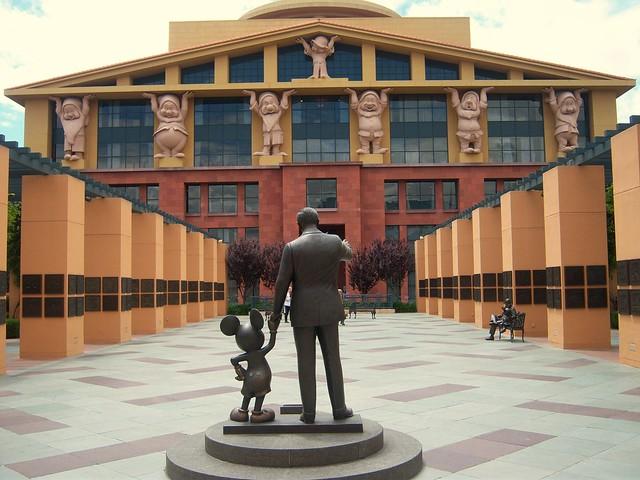 The Team Disney The Michael D Eisner Building And Disney Legends Plaza Flickr Photo Sharing
