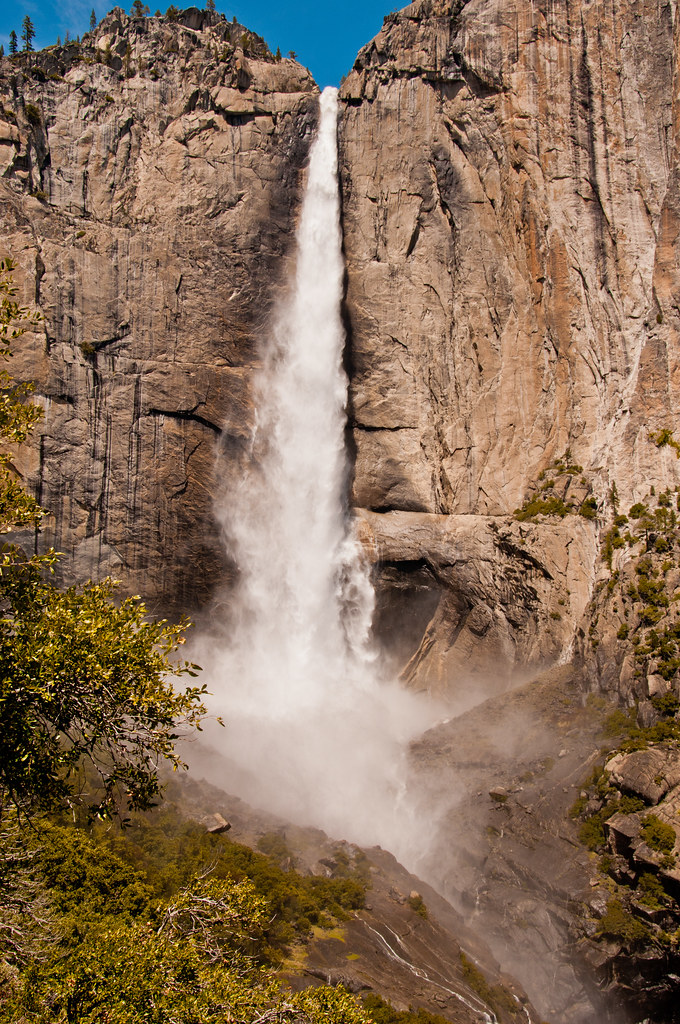 The Upper Yosemite Falls