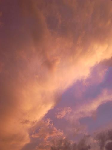 不思議色の夕焼け1
