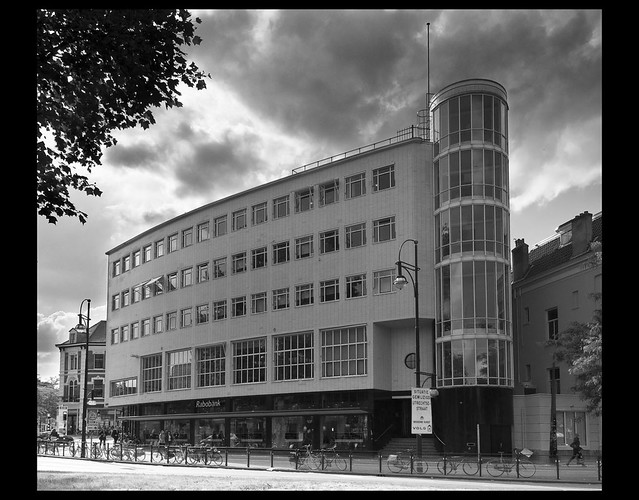 Office building in Arnhem, the Netherlands. Architect: W.M. Dudok, 1938. By jan 1968 @ Flickr