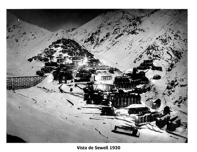 Vistas de Sewell en 1930