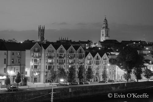 Pope's Quay at Night