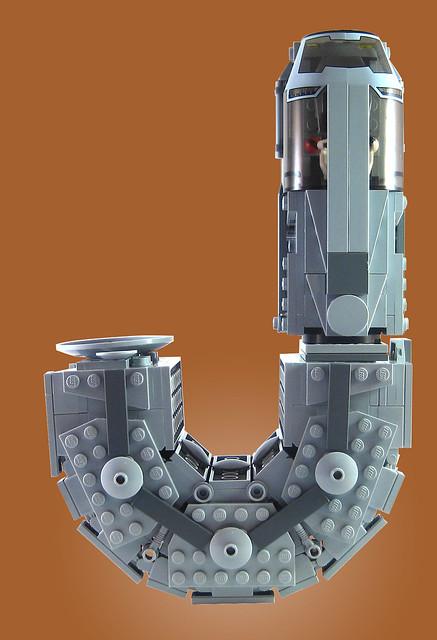 MOC-015 LEGO J Spaceship