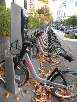 Bixi docking station