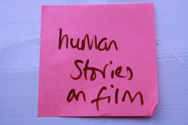 Human stories on film