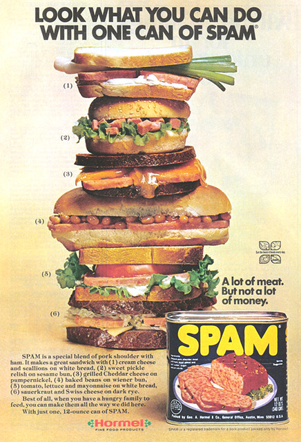 Vintage Ad 906 Look What You Can Do With One Can Of Spam