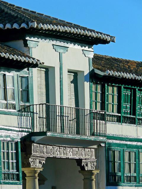 El único balcón