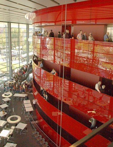 Lobby of the Winspear Opera House