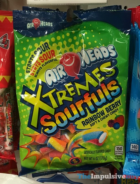 Air Heads Rainbow Berry Xtremes Sourfuls