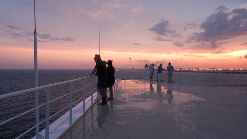 Ruby Princess: Sailaway from Fort Lauderdale