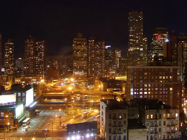 My New View at night