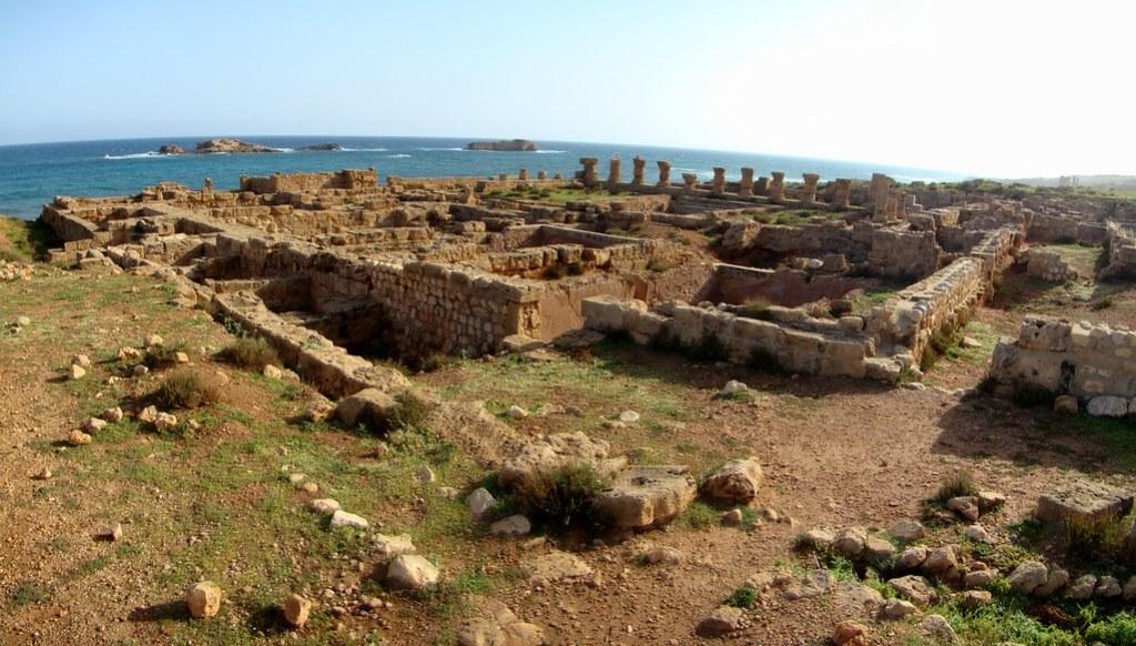 Libia baños termas Apolonia de Cirene 08