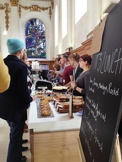 The Wren Coffee Shop, St. Nicholas Cole Abbey, Queen Victoria Street, London