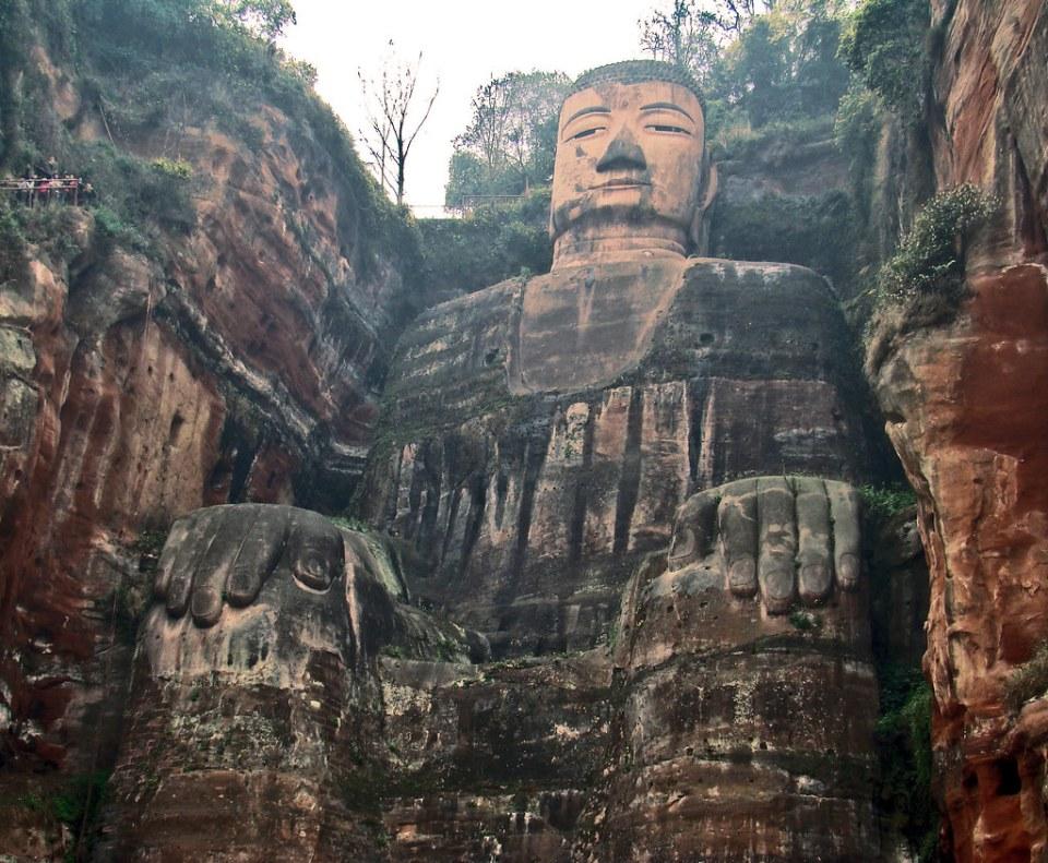 El gran Buda de Leshan China Patrimonio de la Humanidad Unesco 03