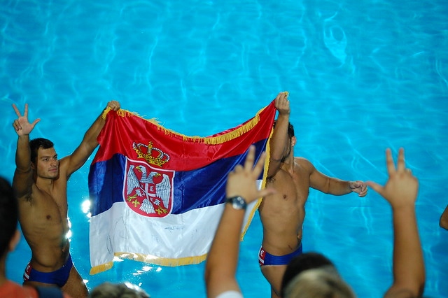 Serbia World Champs at Roma 2009