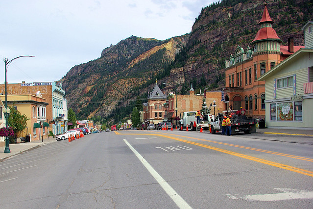Ouray, Colorado, September 10, 2009