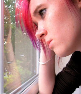 I wish sadness was protrayed only in tears....