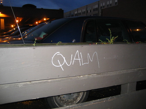 Qualm - Graffiti at Kramarczuk