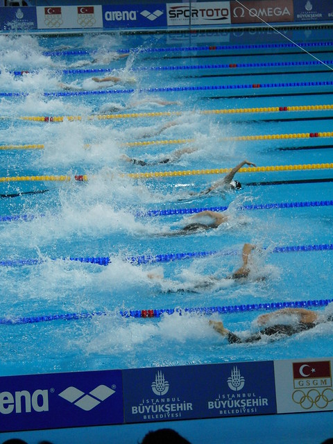 The big boys sprint at Istanbul 2009