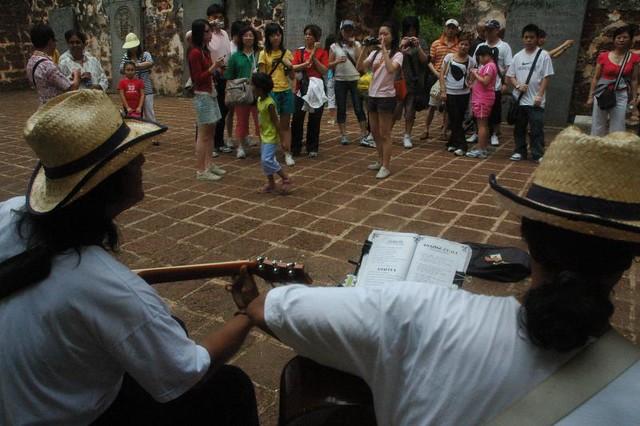 Music or dance, we give you pleasure. Melacca, Malaysia