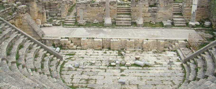 Cirene-Odeon(Teatro Griego, Heleno)-Libia 05